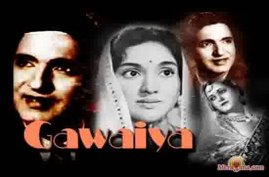 Poster of Gawaiya (1954) - (Hindi Film)